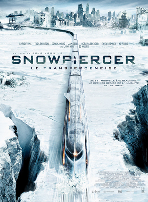 ポン・ジュノ監督 『スノーピアサー』 氷に覆われ世界を列車が突き進む。