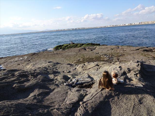 江ノ島にて。のんびり