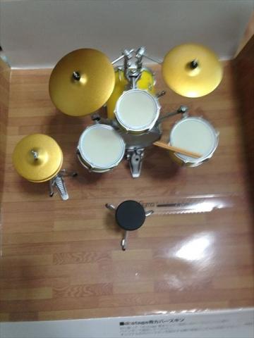 上から見たドラム
