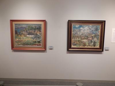 「岩内山」と「坂のある風景」