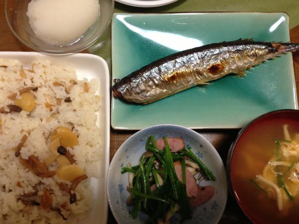2014 10 20 夕食