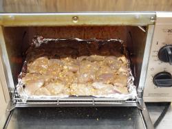 鶏レバーでジャークチキン12