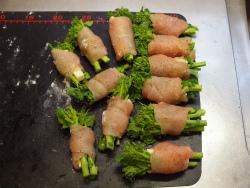 鶏むね肉の菜の花巻き28