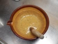 菜の花の辛子酢味噌16