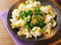 菜の花の辛子酢味噌13