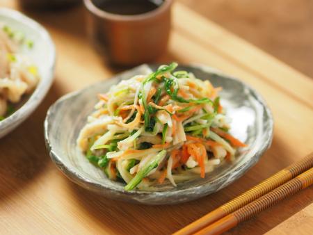 水菜の酢味噌和え04