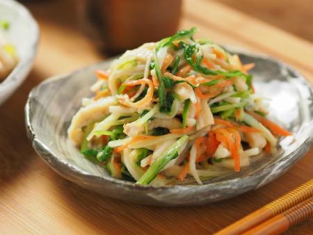 水菜の酢味噌和え06