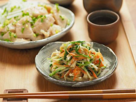 水菜の酢味噌和え10