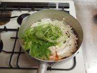水菜の酢味噌和え36
