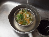 水菜の酢味噌和え37