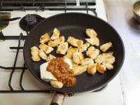 鶏むね肉茄子味噌炒め37