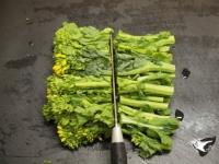 菜の花納豆炒め11
