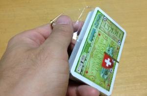 スイスマップカード