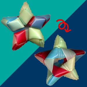 菱玉で星 作り方12