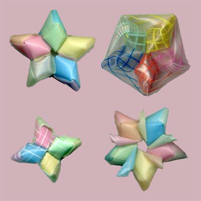 菱玉で星 作り方07-1