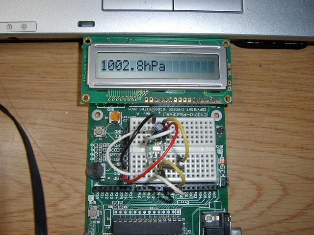 MPL115A2気圧計3