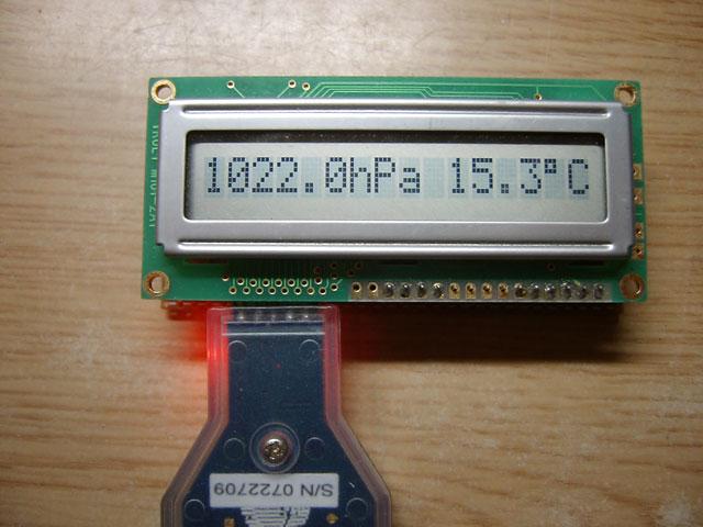 MPL115A2気圧計5