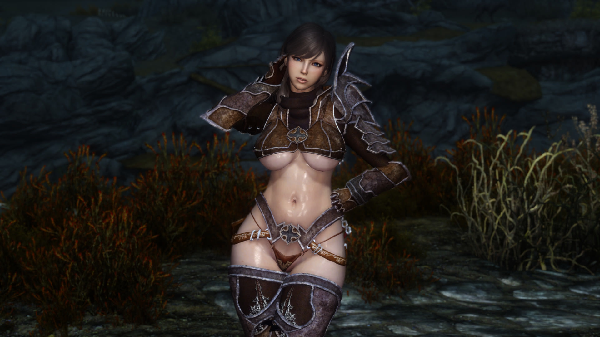 Demon hunter boobs fucking boobs
