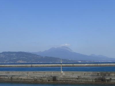 島原半島の普賢岳 2014 3・3