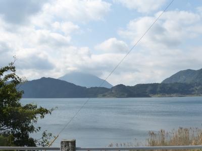 池田湖から観る開聞岳 2014 3・4