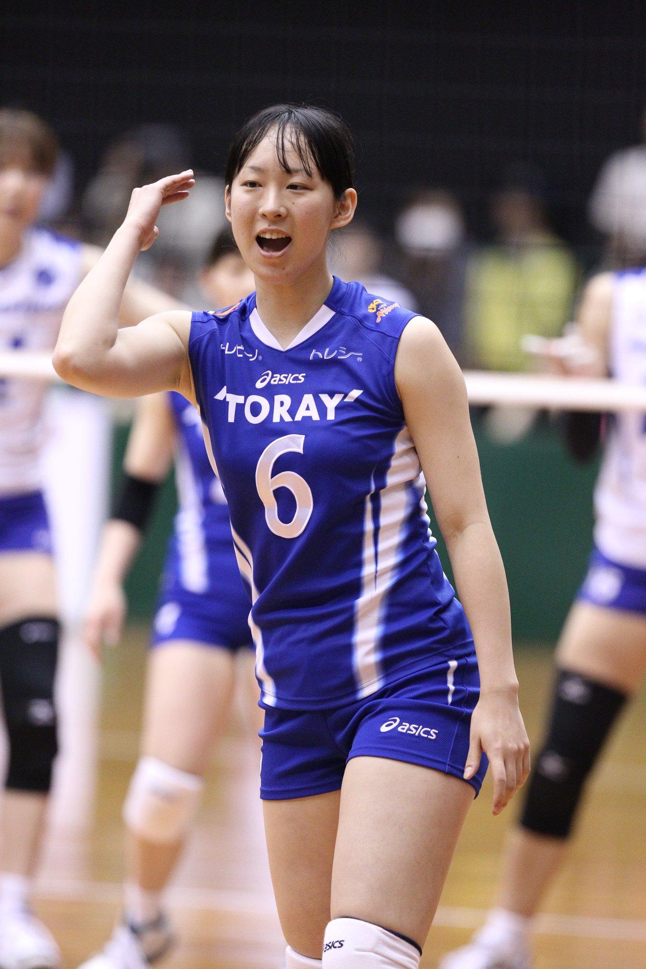バレー・高田ありさのかわいい画像8