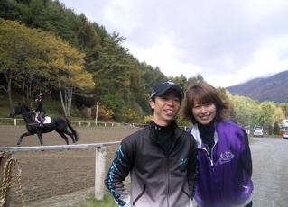 北村宏司と嫁・皆川奈美の画像3