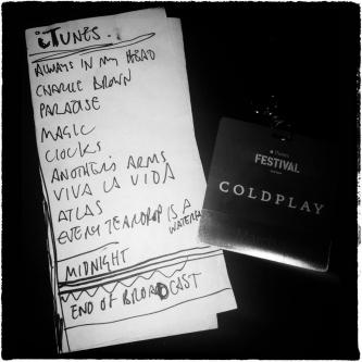 Coldplay - iTunes Festival SXSW⑨