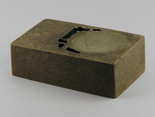 洮河緑石硯  東京国立博物館収蔵品