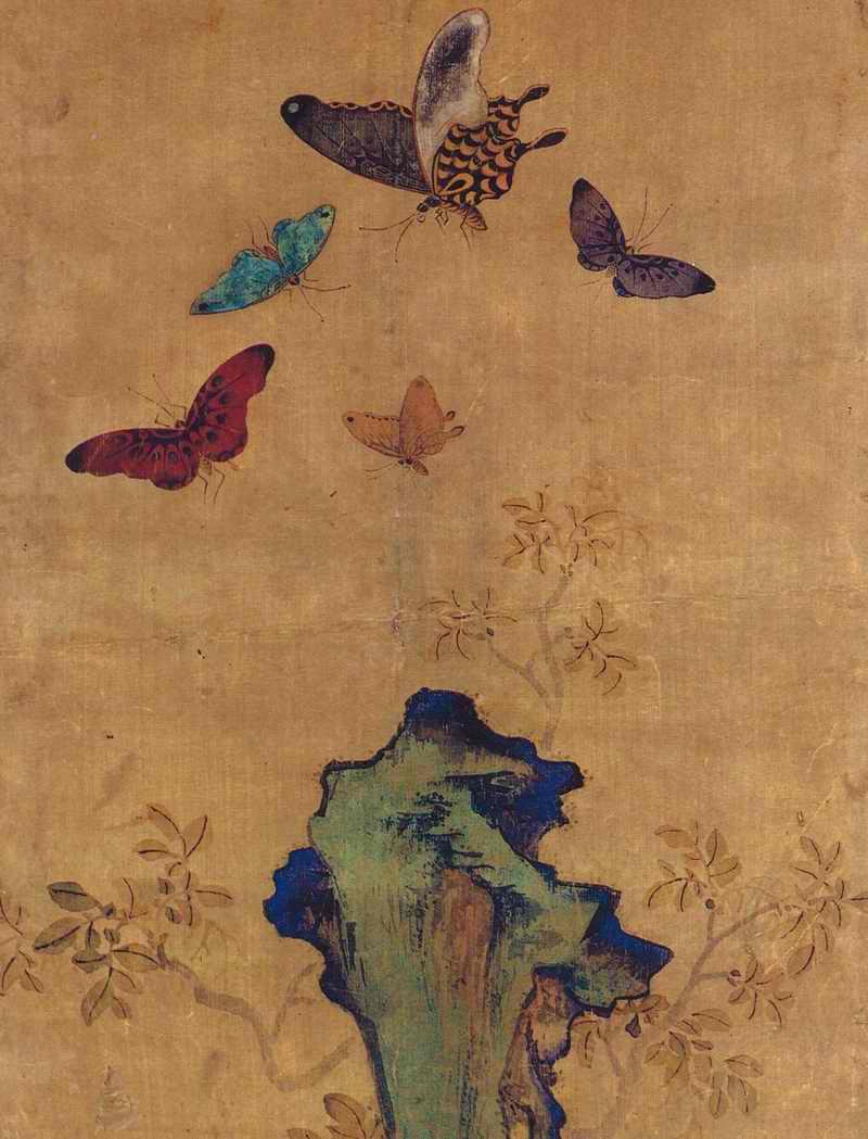 朝鮮民画「花鳥図-宮廷画家も描いた上手編」7