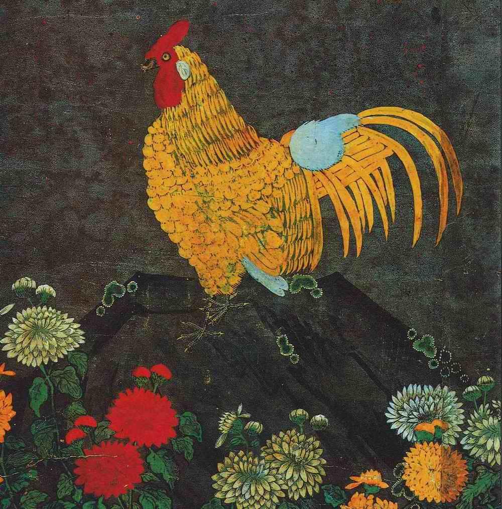 朝鮮民画「花鳥図-宮廷画家も描いた上手編」4