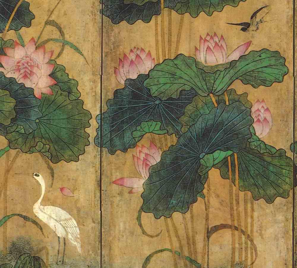 朝鮮民画「花鳥図-宮廷画家も描いた上手編」6