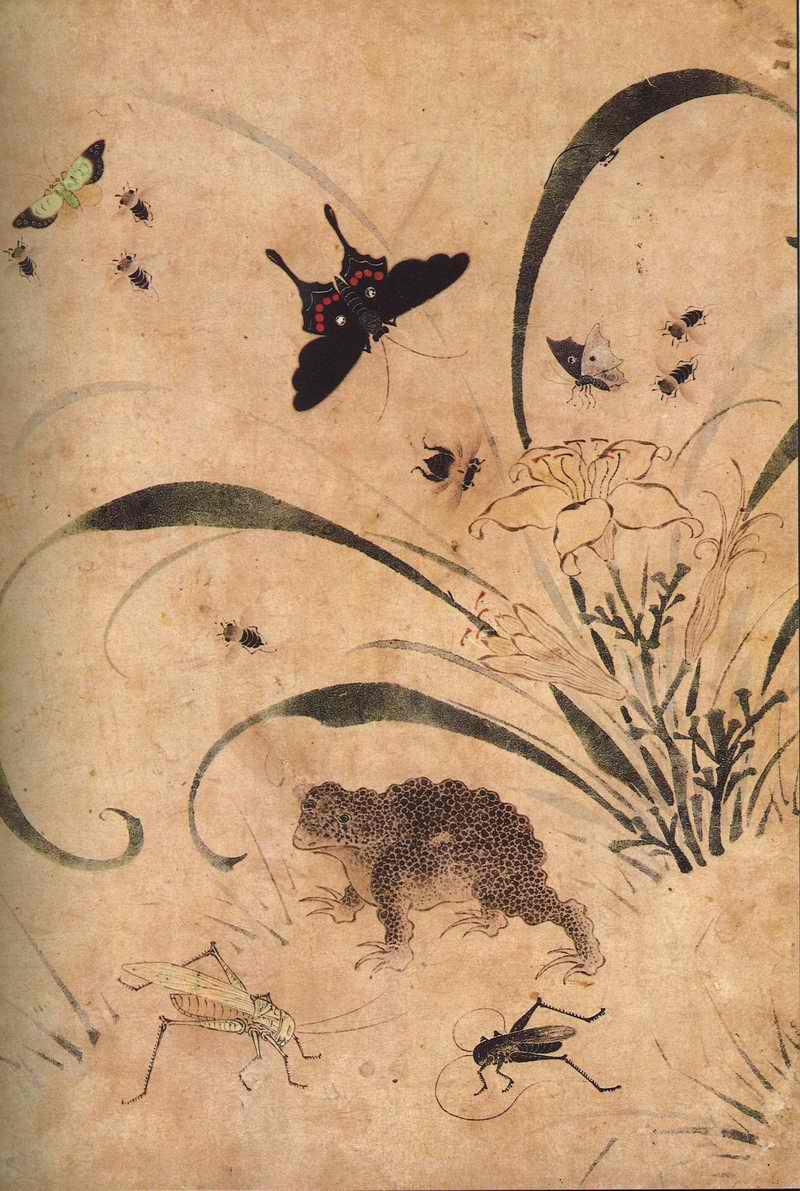 朝鮮民画「花鳥図-宮廷画家も描いた上手編」3