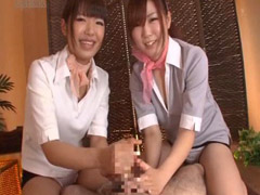 盗撮 回春 マッサージ 3P パンツ 淫乱 痴女 手コキ 童顔