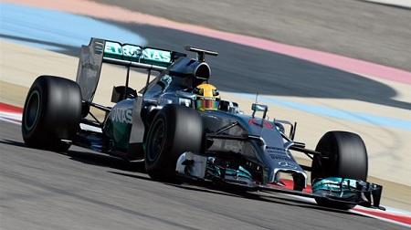 2014年F1バーレーンテスト4日目
