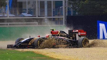 2014年F1、ロータスが不調