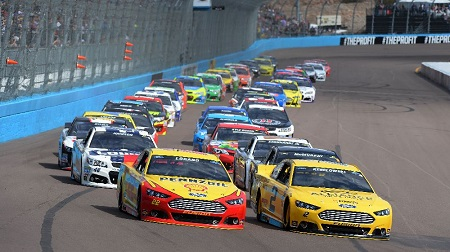 NASCAR 2014 スプリントカップ 第3戦 フェニックス 結果