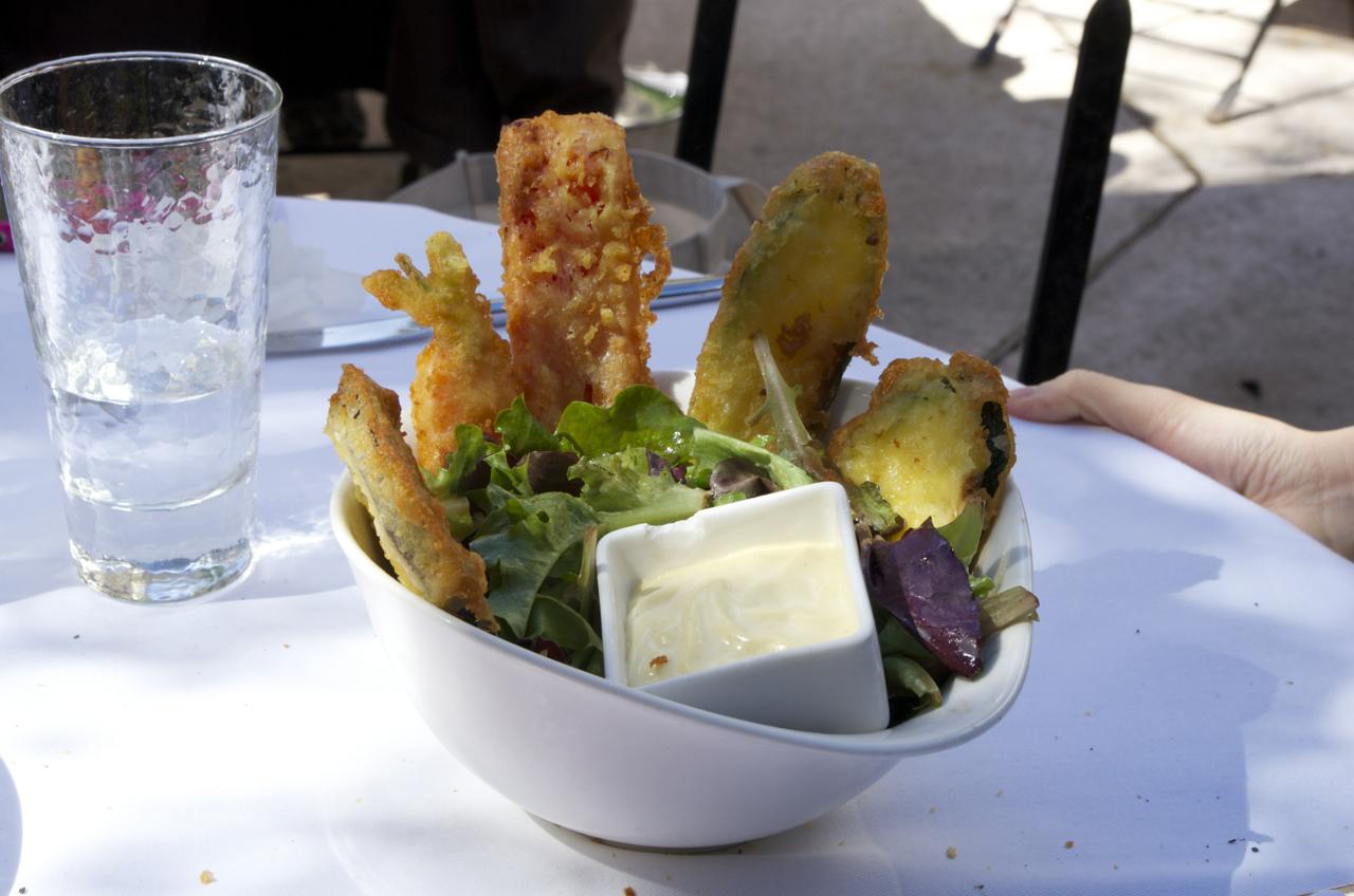 アンティーブ(Antibes)のレストラン Le jardin