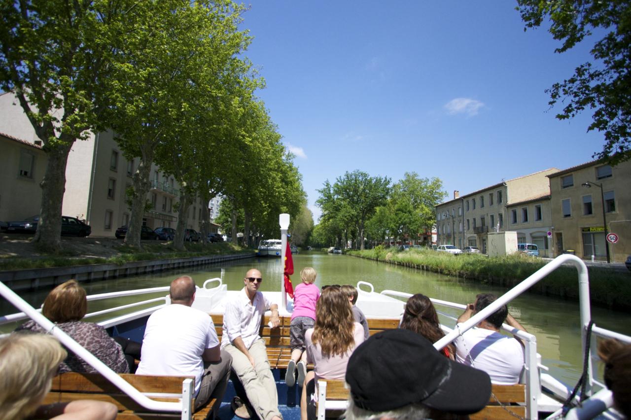 ミディ運河(Canal du Midi)