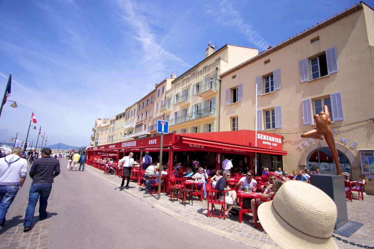 サン・トロペ(Saint-tropez) コート・ダジュール(Côte d'Azur) 南フランス 南仏
