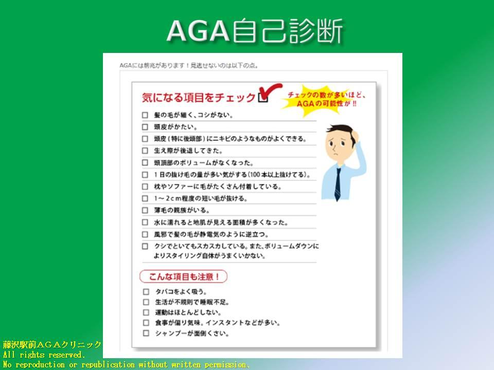 AGA自己診断1