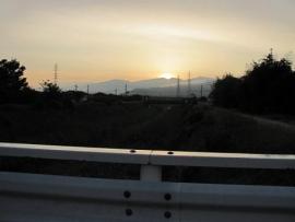秋分の日の日の出_5847