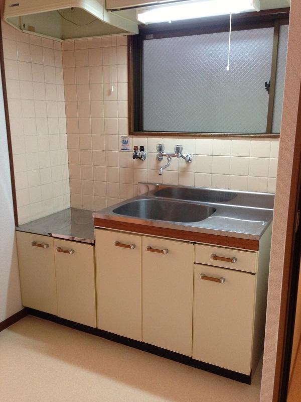 マンション藤川303号室キッチン