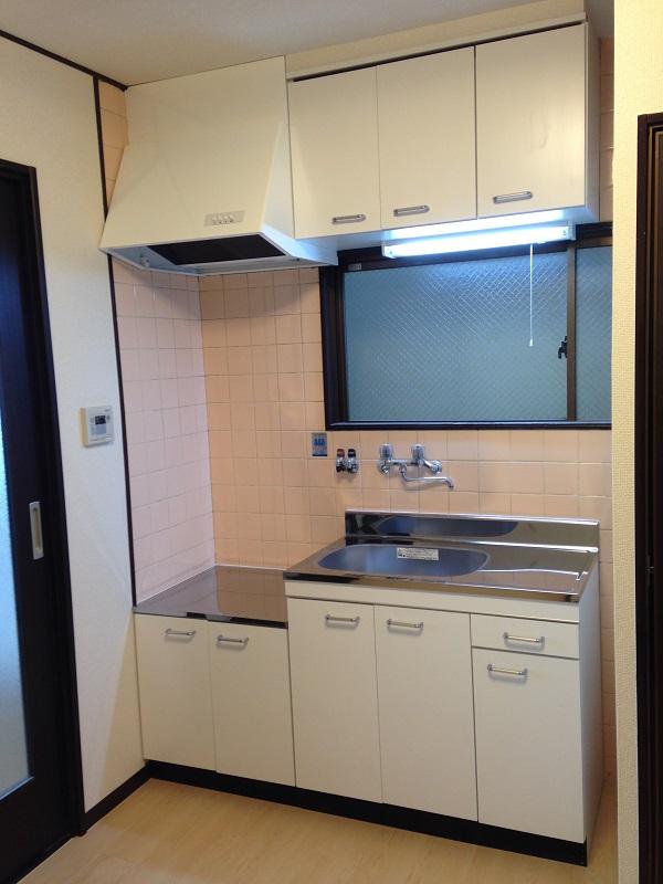 トゥーリーブスマヤの303号室キッチン