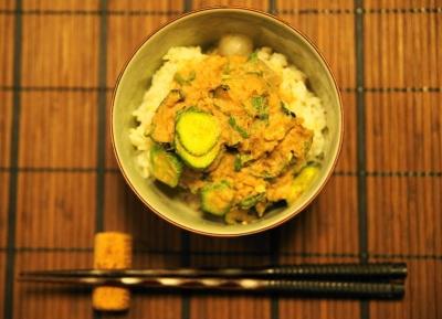 薩摩の冷汁 丼盛り