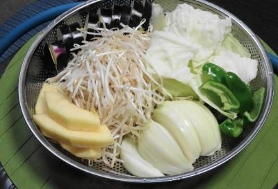 焼き野菜一式
