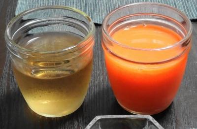 ゲルソンジュース&麦茶