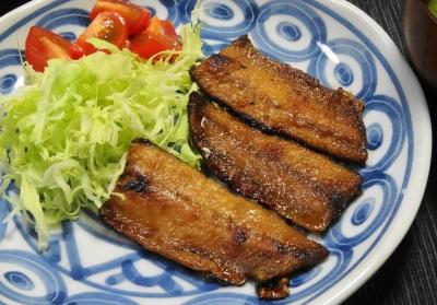 秋刀魚の蒲焼き うこん風味