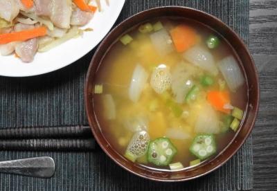 ヒポクラテススープ風 味噌汁