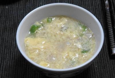 溶き卵の中華スープ