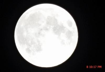 いつもの満月